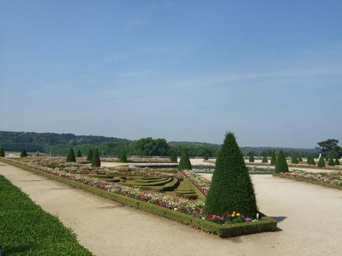 ベルサイユ宮殿 庭