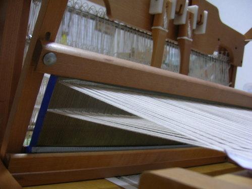 織り機 どアップ